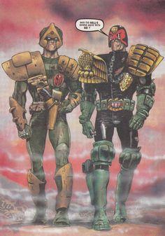 Judge Dredd - Judgment Day - Dredd & Strontium Dog