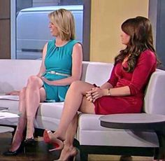 Kinberly Guilfoyle legs on Outnumbered