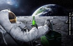Funny memes Relaxing On The Moon...