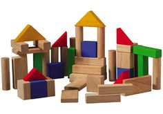 Make Your Own Wood Blocks | Wooden Blocks - Children's Wooden Blocks - Wooden Baby Blocks