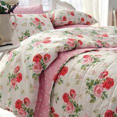 Antique Rose Bouquet Bedding | Cath Kidston AW15 |