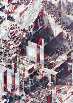 Land of Pixels 03 by Atelier Olschinsky.