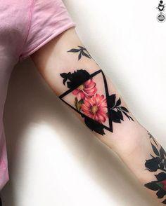 Dope Tattoos, Black Tattoos, Body Art Tattoos, Hand Tattoos, Small Tattoos, Sleeve Tattoos, Tatoos, Tattoo Fleur, Aesthetic Tattoo