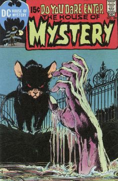The House of Mystery - Art by Neal Adams (1970). #HouseOfMystery #NealAdams