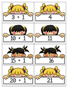 Math Concentration - Free Printable