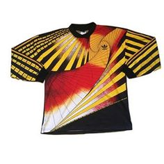 cc7009bde29 West Germany 1990 93 adidas template goalkeeper shirt - this iconic design  was worn during