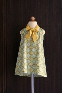 cute girl dress pattern