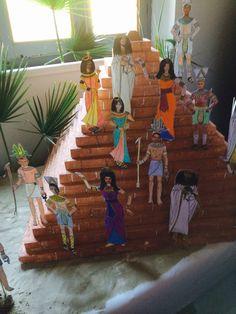Piramide e sagome egizie