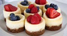Mini Cheesecake Tarifi | Yemek Tarifleri