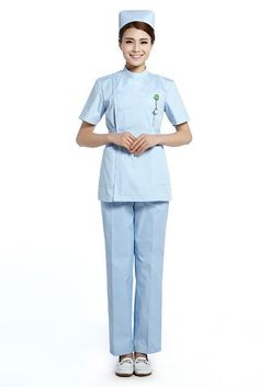 2015 Oem Nurse Uniform Medical Uniform Hospital Medical Dress Uniformes Clinicos Doctor Scrubs, Medical Uniforms, Hospital Uniforms, Uniform Design, Nursing Dress, Color Swatches, Work Wear, Peplum Dress, Normcore