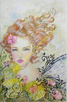 Sunrise Fairy. Available in #artelista.com.