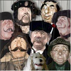 Marionetten aus der Marionettenwerkstatt - Uwe Soerenen. Marionettes.