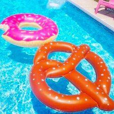 Donut and Pretzel Pool Floaties | Five Below