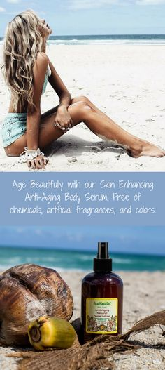 Most of the anti-aging products only focus on protecting and healing facial skin. The rest of your body ages at the same rate, but only receives a fraction of the care.