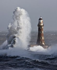 A rare moment indeed. #lighthouse