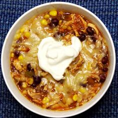 "Chicken Tortilla Soup ""An easy to make soup that's quite good. Fresh chicken and tortilla chips with vegetables. Makes for a delicious, warm soup. Try garnishing with cheese and/or a little sour cream."""