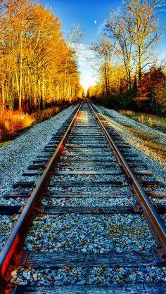Motor A Vapor, Vanishing Point, Military Girl, Train Tracks, Mountain Biking, Railroad Tracks, Paths, Trains, Nature