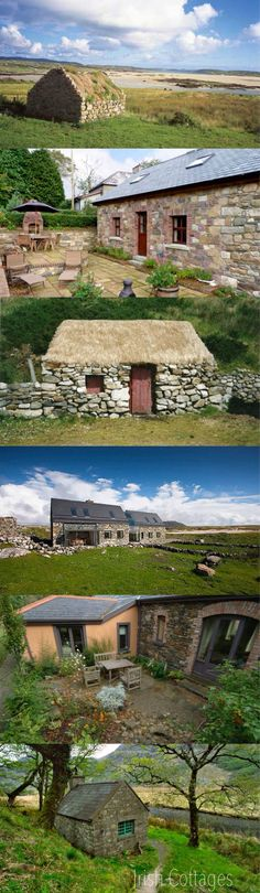 sweet wee Irish cottages <3