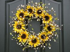 Sunflower Wreath by thao.nguyenhuong