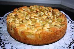 Flotter Rhabarberkuchen - Einfache Rezepte