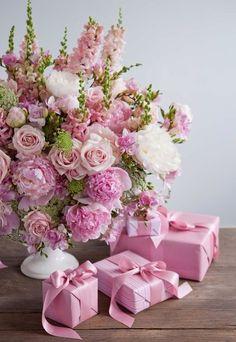 New Flowers Gift Bouquet Floral Arrangements Mothers 39 Ideas Amazing Flowers, Pink Flowers, Beautiful Flowers, Pink Lace, Bouquet Flowers, Shabby Flowers, Pink Peonies, Fresh Flowers, Frühling Wallpaper