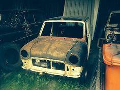 1982 Austin Morris Mini 95l White Shell V5 Spares Repair Barn Find Project  - http://classiccarsunder1000.com/?p=88739