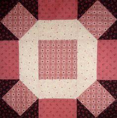 Kathy's Quilts: Saturday Sampler   #25 Broken Wheel