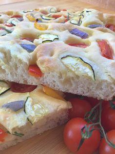Focaccia con verduras Empanadas, Cheesecake, Polenta, Sin Gluten, Bagel, Camembert Cheese, Broccoli, Lemon, Pie