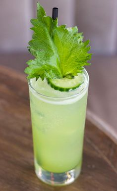 Shiso Easy cocktail