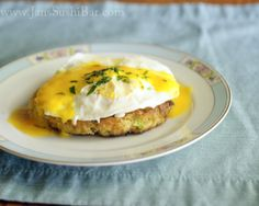 Crab Cake Benedict - I am way too lazy to make this right now but I really need for this to be in front of me.