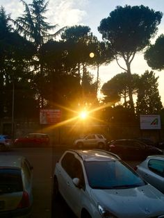 Tramonto in via Trionfale
