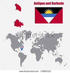 Find Antigua Barbuda Map On World Map stock images in HD and millions of other royalty-free stock photos, illustrations and vectors in the Shutterstock collection. Thousands of new, high-quality pictures added every day. Denmark Map, Royalty Free Stock Photos, Flag, Illustration, Pictures, Antigua, Photos, Illustrations, Science