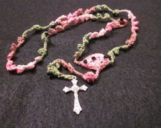 Crocheted Rosary Pattern–FREE! - Little House in the