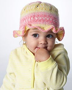 Free Pattern: Ruffle Hat