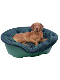 Easy fit cover for a plastic Dog Bed from Waggers