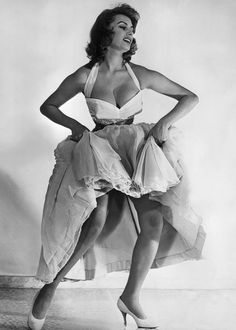 Sophia Loren - I have no desire to look like a model these days, but Sophia, now that's a role model to want to look like!
