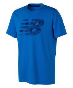 Blue Logo Tee - Boys