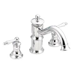 Dimensions: x in. Your choice of available finishes. Includes a rotating spout with locking feature. M-PACT common valve system. The Moen… Ada Compliant, Plumbing Fixtures, Deck, Design, Front Porch, Decks, Design Comics