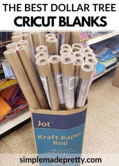 Dollar Tree Cricut, Dollar Tree Crafts, Cricut Craft Room, Cricut Vinyl, Cricut Fonts, Cricut Tutorials, Cricut Ideas, Vinyl Projects, Crafty Projects