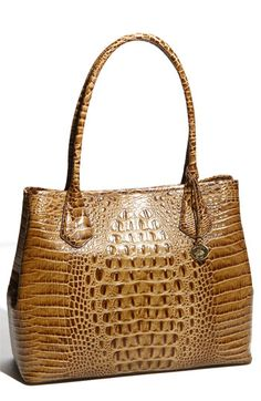 Brahmin 'Anytime' Tote-this is on my bday list in this color; the toasted almond...so dreamy!