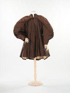 Evening coat | Charles James (1906-1973) | United States, 1949 | Material: silk | The Metropolitan Museum of Art, New York