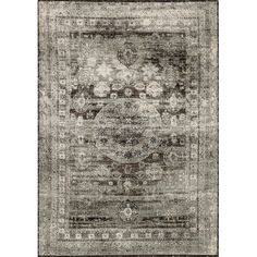 Define a cozy reading nook or add a chic touch to the master suite with this hand-woven rug, featuring a weathered motif.   Product:...
