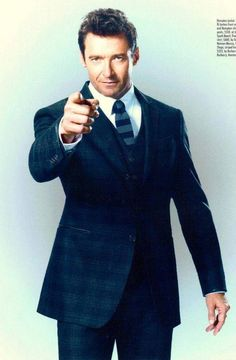 This private eye looks better than James Bond...he's Jackman...Hugh Jackman!