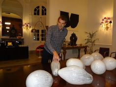 Leo Battistelli, anticipo de la obra en arteBA en la Mansión Moët Hennessy Argentina