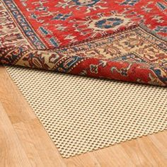 Amazon.com - Eco Hold Rug Pad 5' x 8' - 100% Heavier and Thicker than Most Rug Pads, Provides Extra Cushion, For All Hard Surfaces, Earth Friendly -