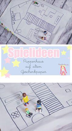 Spielideen und Beschäftigungsideen für Kinder auf Papier für drinnen, Kids Outdoor Activities