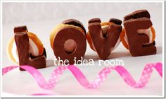 Valentine's Day s'mores!
