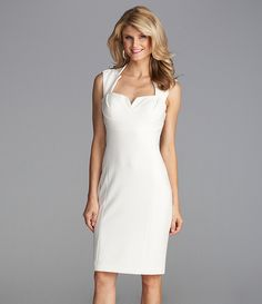 My send off dream dress! Business Dresses, Business Outfits, Business Attire, Rehearsal Dinner Dresses, Little White Dresses, Ivory Dresses, Classy Dress, Dream Dress, Special Occasion Dresses
