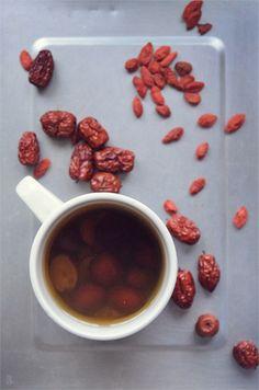 枸杞红枣茶 (养生美肤茶) #tea #recipe #beauty