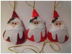 Enfeites de Natal - Papai Noel